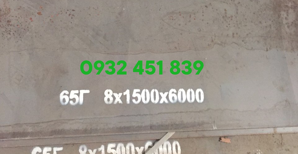 Bảng báo giá thép tấm 65g / 65ge / 65mn chịu mài mòn mới nhất 2021