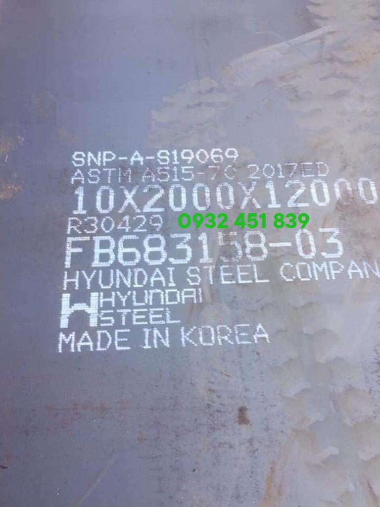 thép tấm a515 chịu nhiệt dày 10 ly