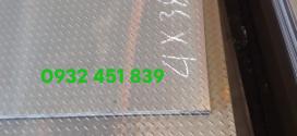 Bảng báo giá thép tấm gân chống trượt ss400 mới nhất 2021
