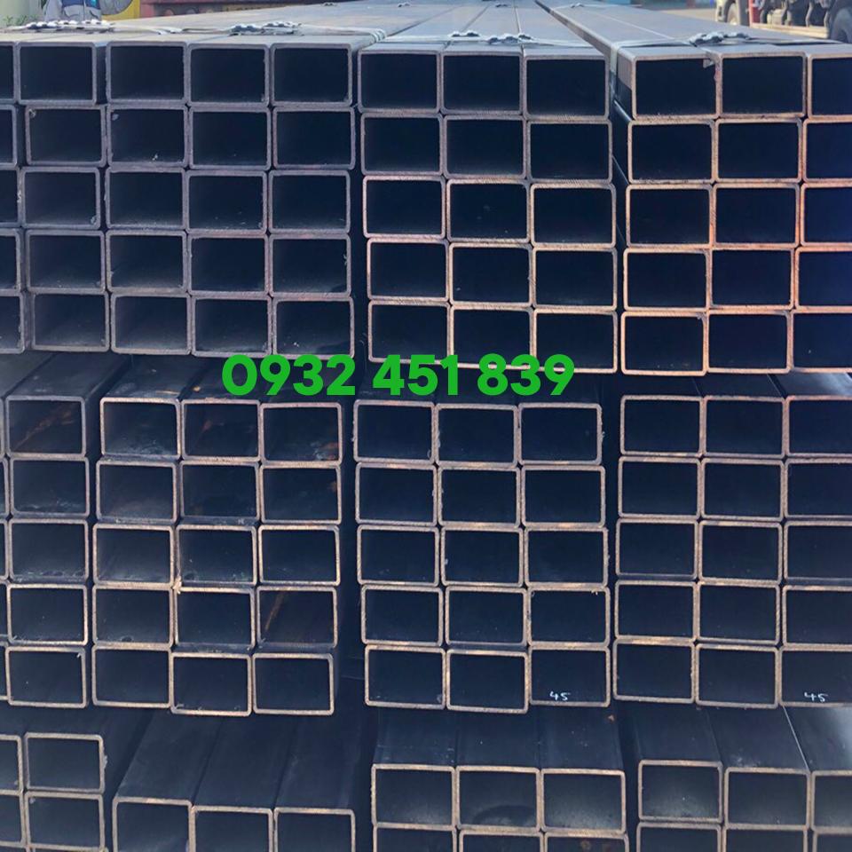 sắt thép hộp vuông đen