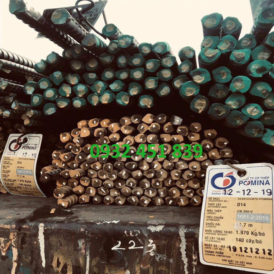 Thép xây dựng cây pomina